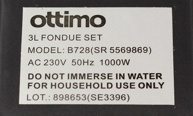 Ottimo Fondue Set for Sale!