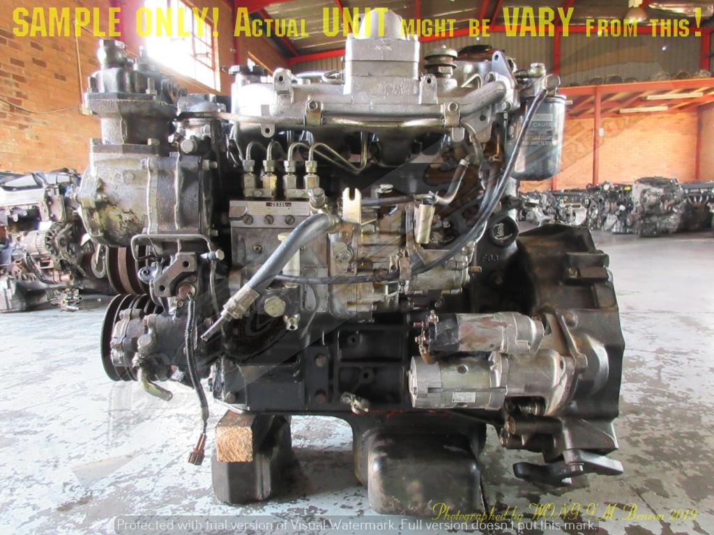 NISSAN FD46 4.6L TURBO DIESEL 8V Engine -CABSTAR