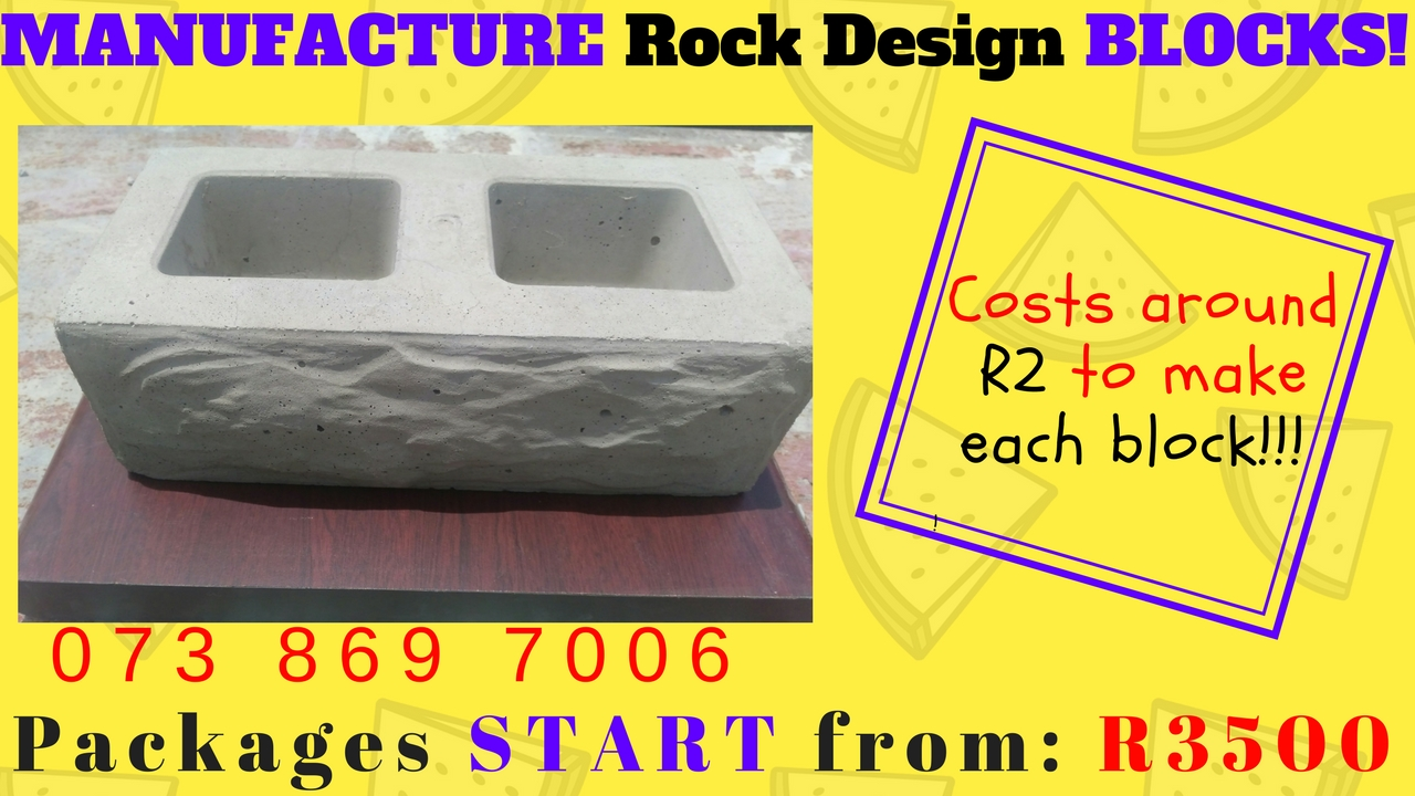 Rock Art Block Making BUSINESS FOR SALE