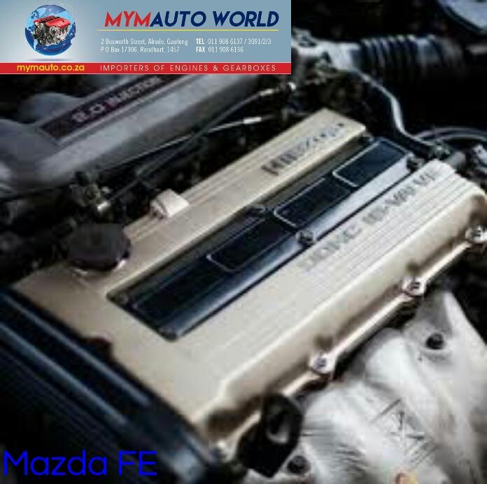 MAZDA 626/B SERIES/E SERIES/ 2.0L, FE FWD EFI complete engine