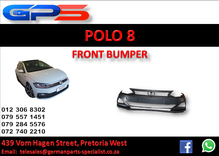 New Polo 8 Front Bumper for Sale
