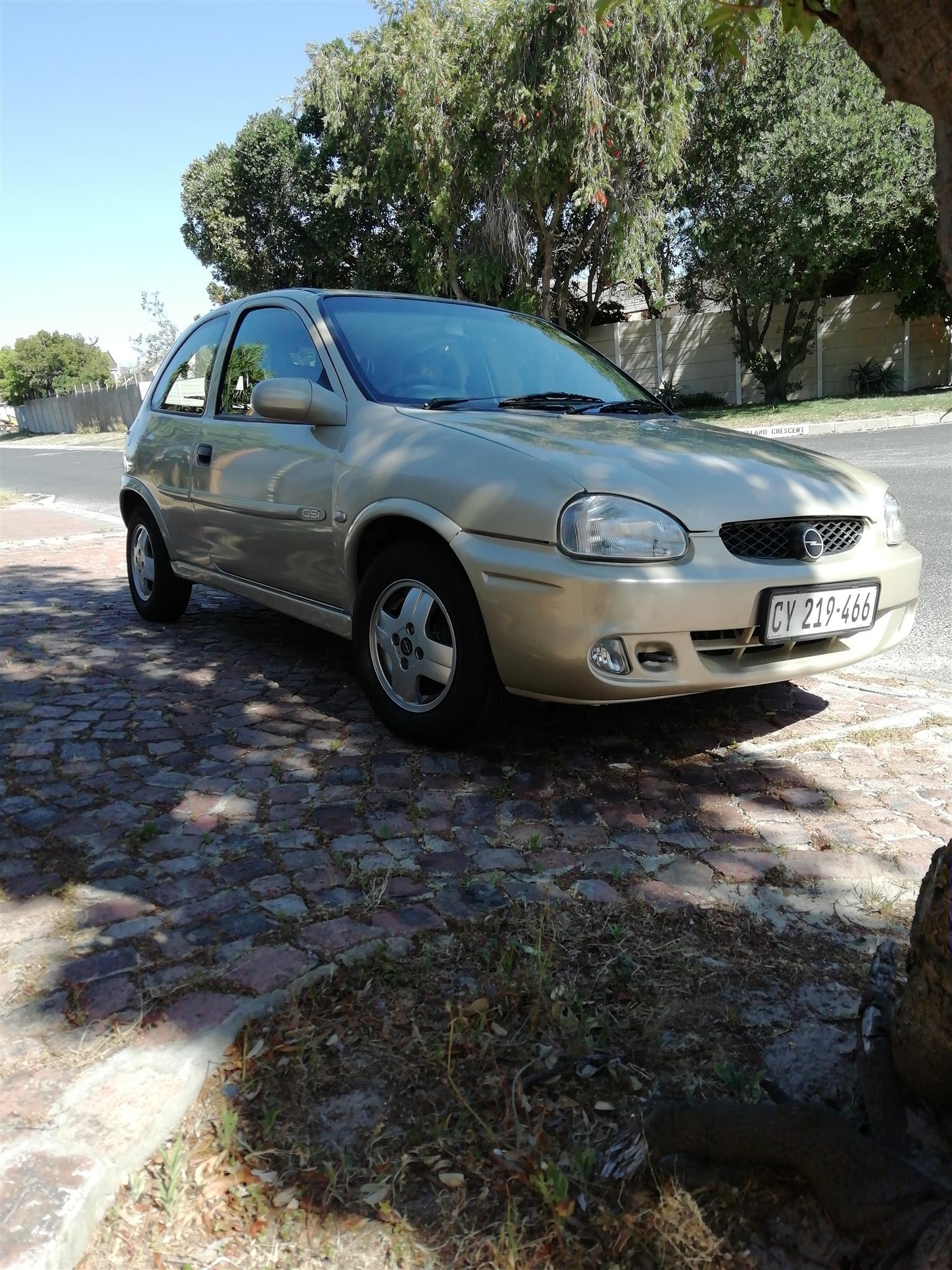 2002 Opel Corsa 1.8 GSi