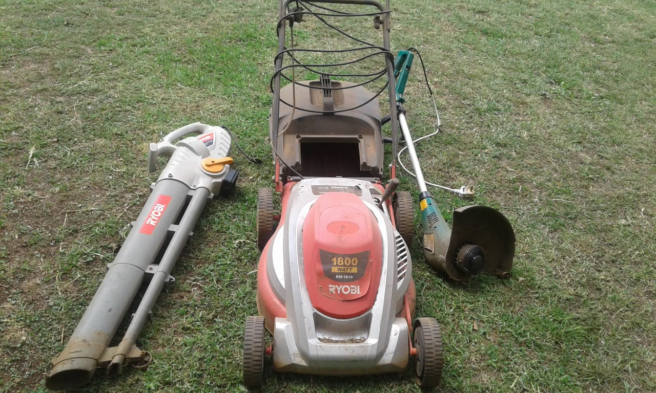 Lawnmower, Weedeater and Blower