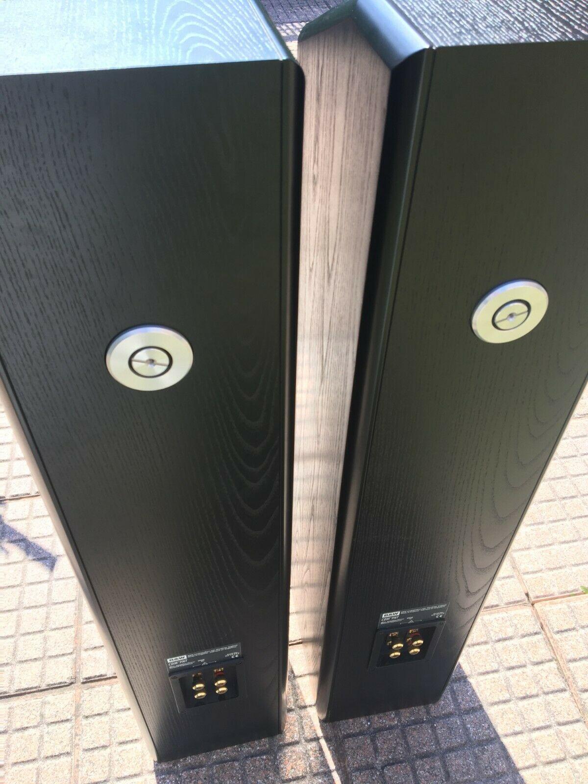 Bowers and Wilkins B&W CDM 9NT Floorstanding Speakers Black..