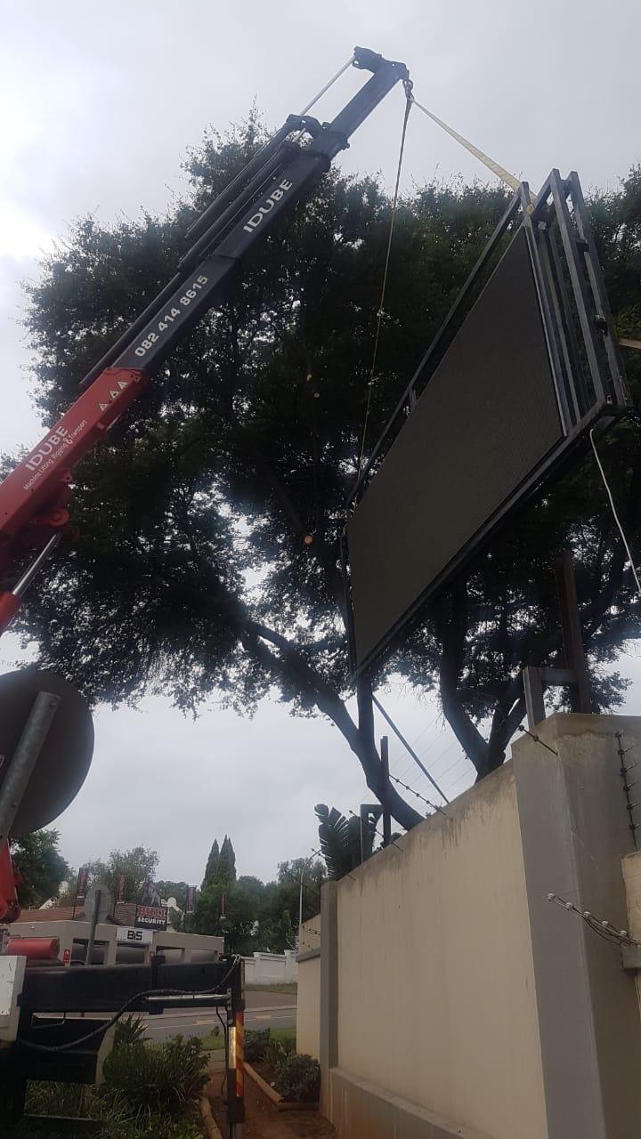 Idube Machine Lifting Rigging and Transport