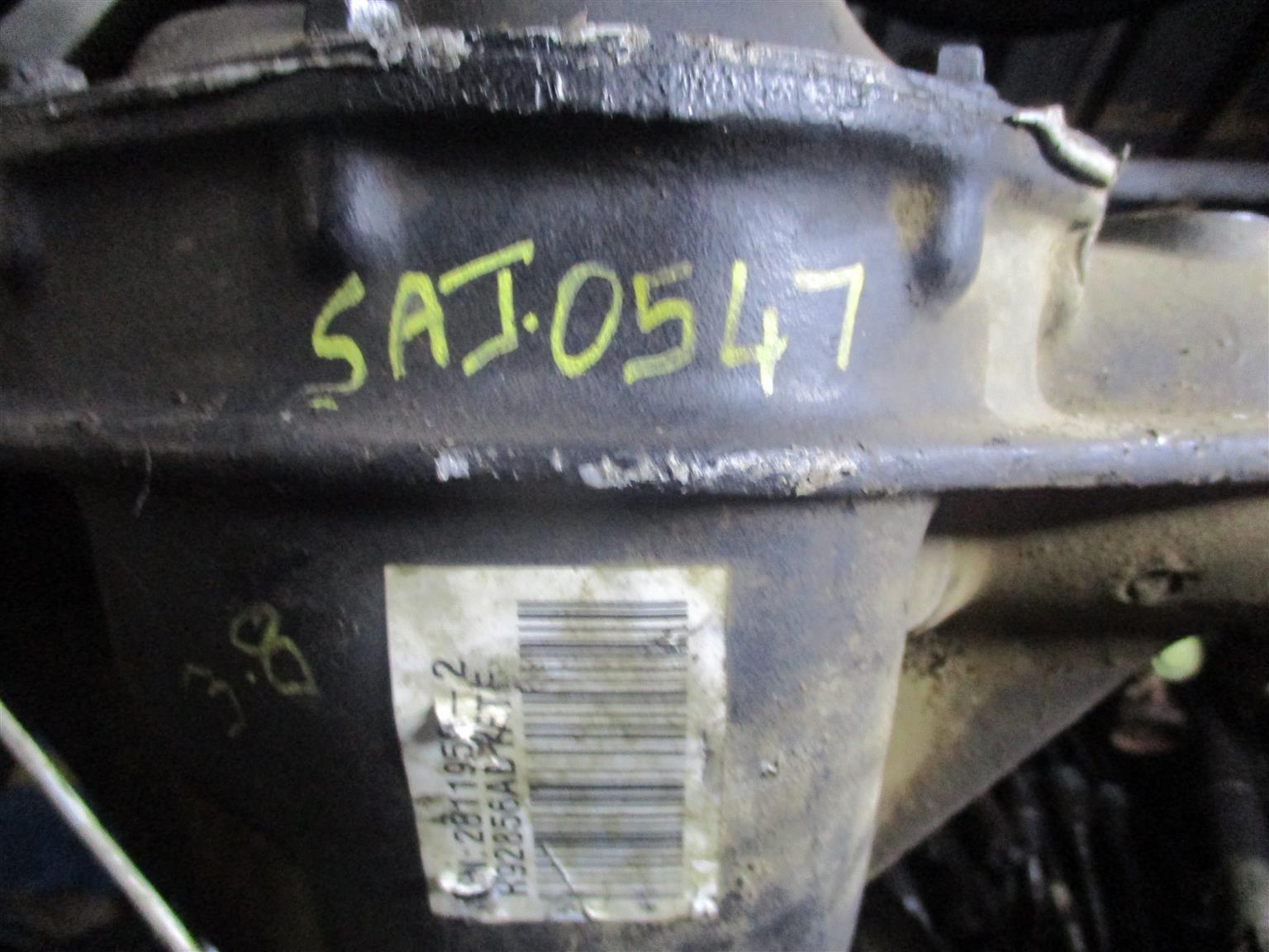 JEEP WRANGLER 3.6 SAHARA 2012 DIFF FOR SALE
