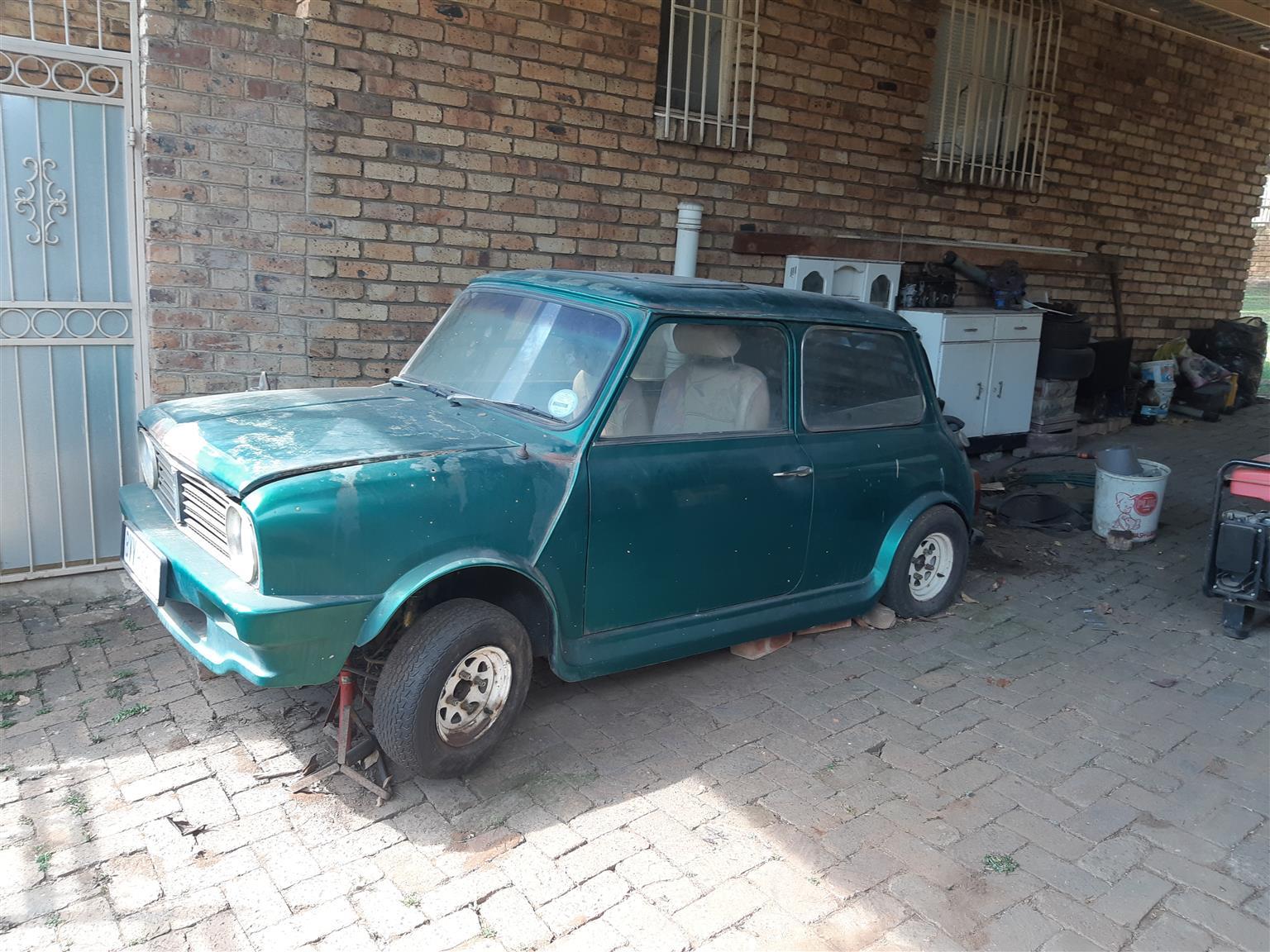 Mini project car for sale