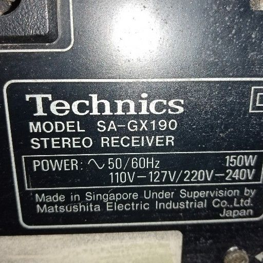 Technics House amp