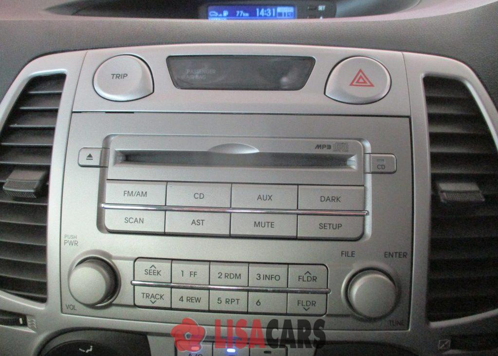 2012 Hyundai i20 1.4 Fluid auto