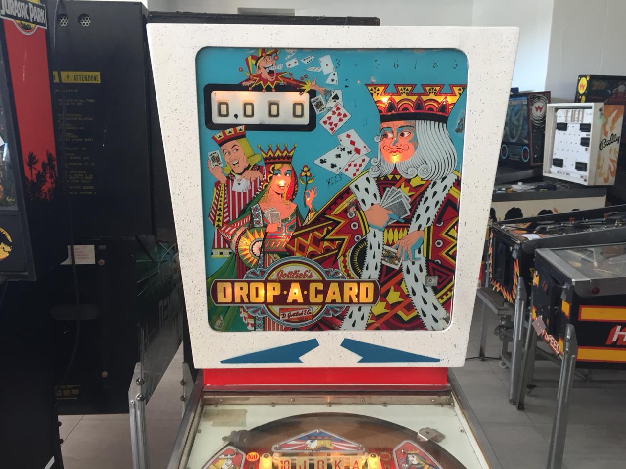 Drop-A-Card Pinball Machine for sale | Junk Mail