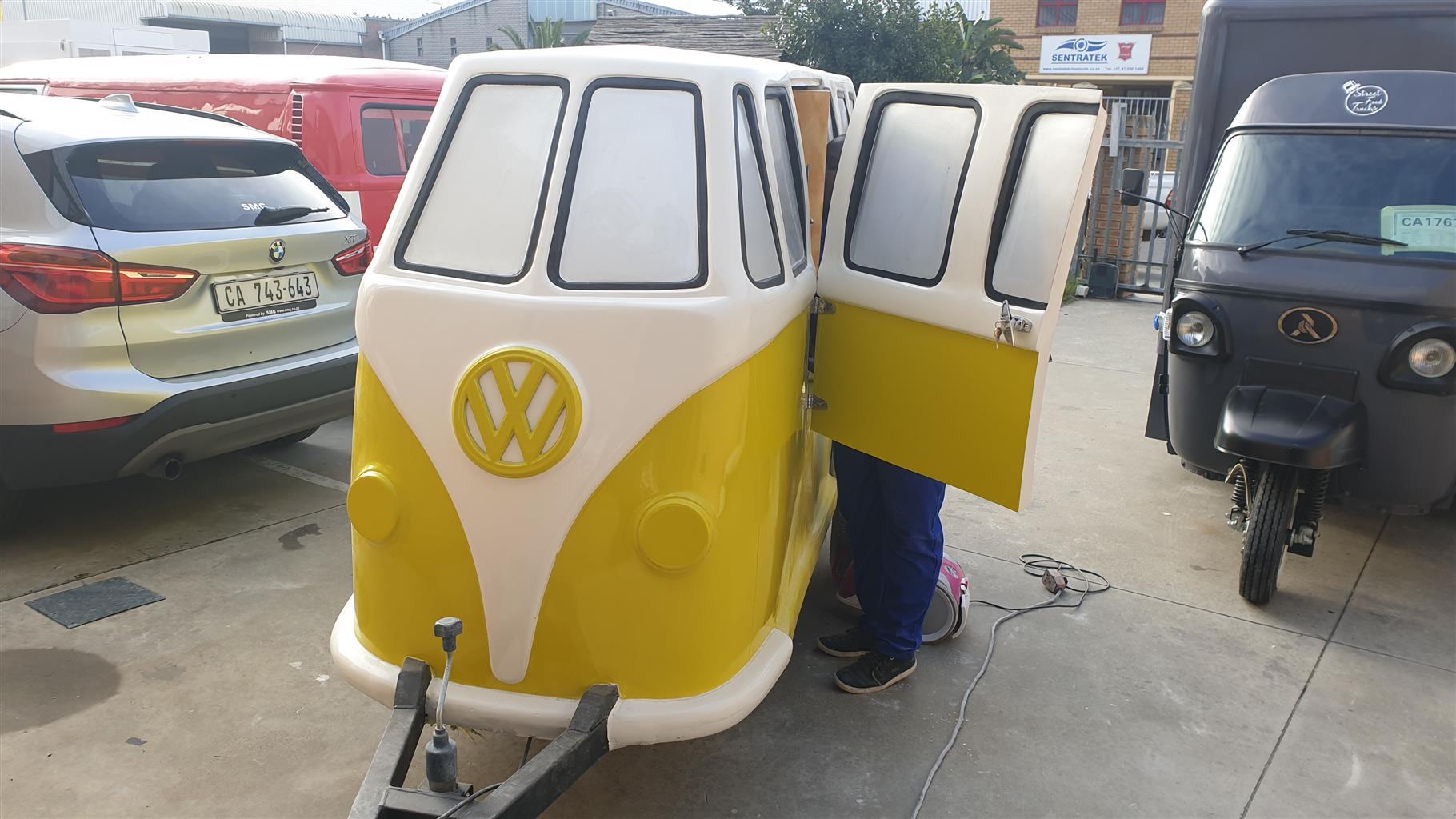 VW Kombi Mini Replica Utility Trailer