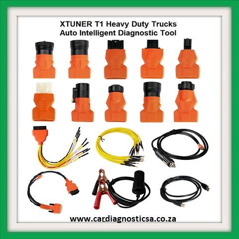 Truck tool: XTUNER T1 HD V13.1 Heavy Duty Trucks Auto Intelligent Diagnostic
