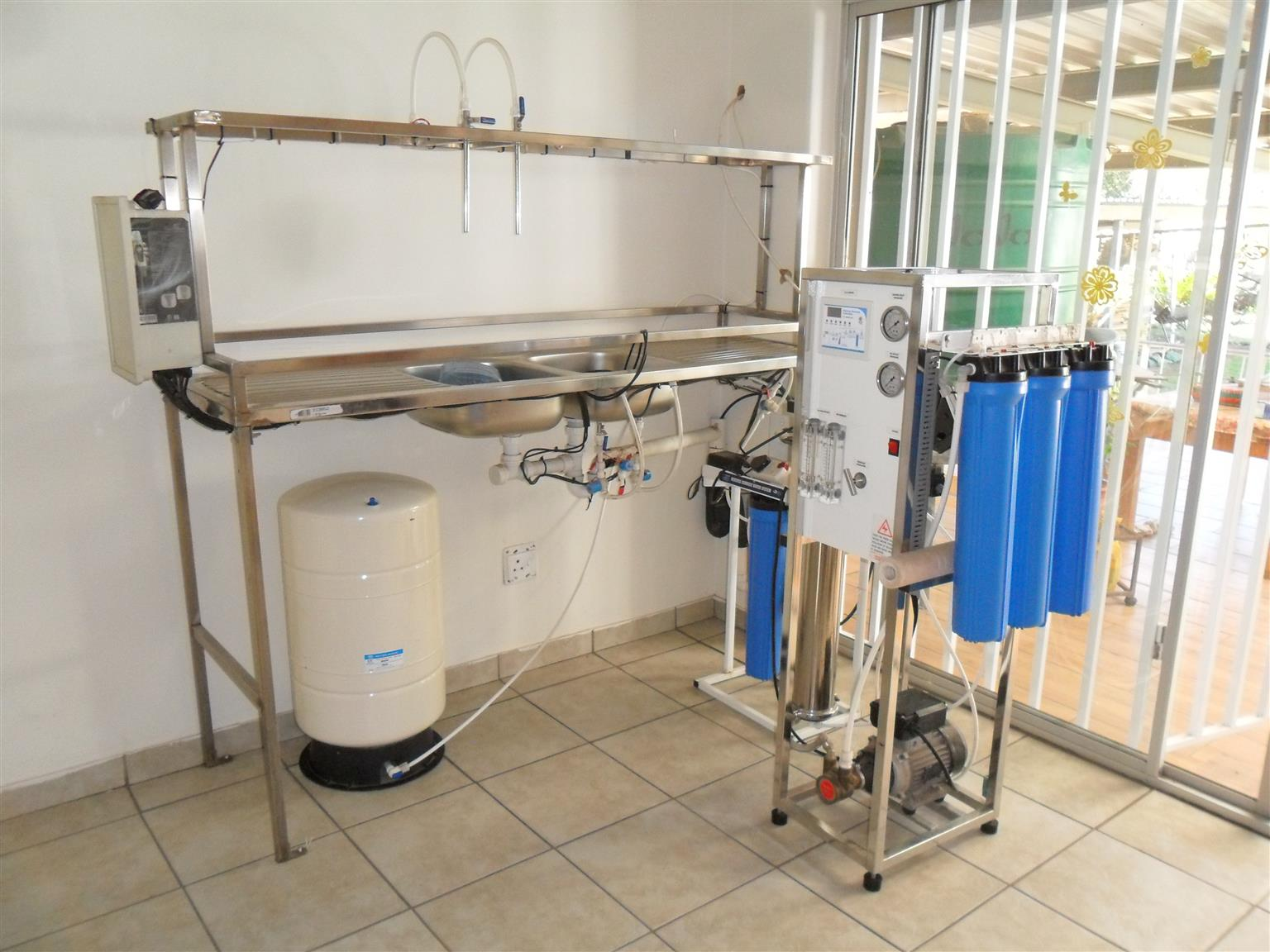 Water Osmosis Water Filtration System