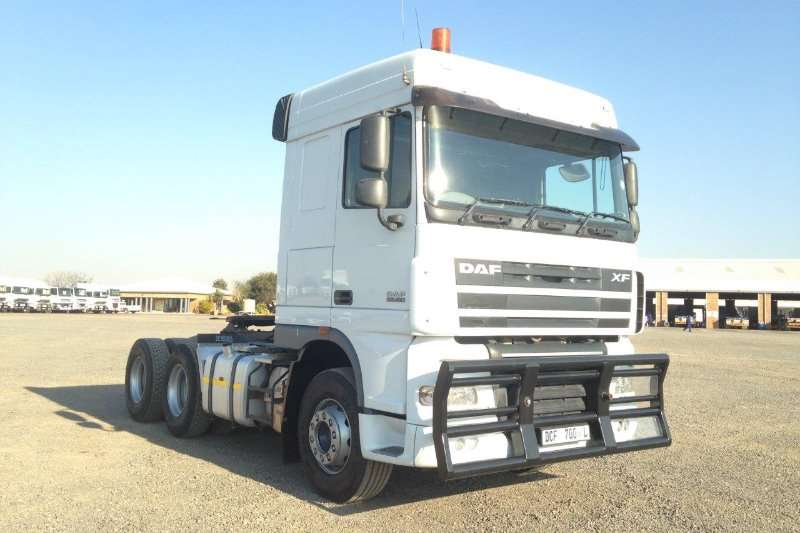 2014 Used DAF XF105.460 Truck Tractor For Sale