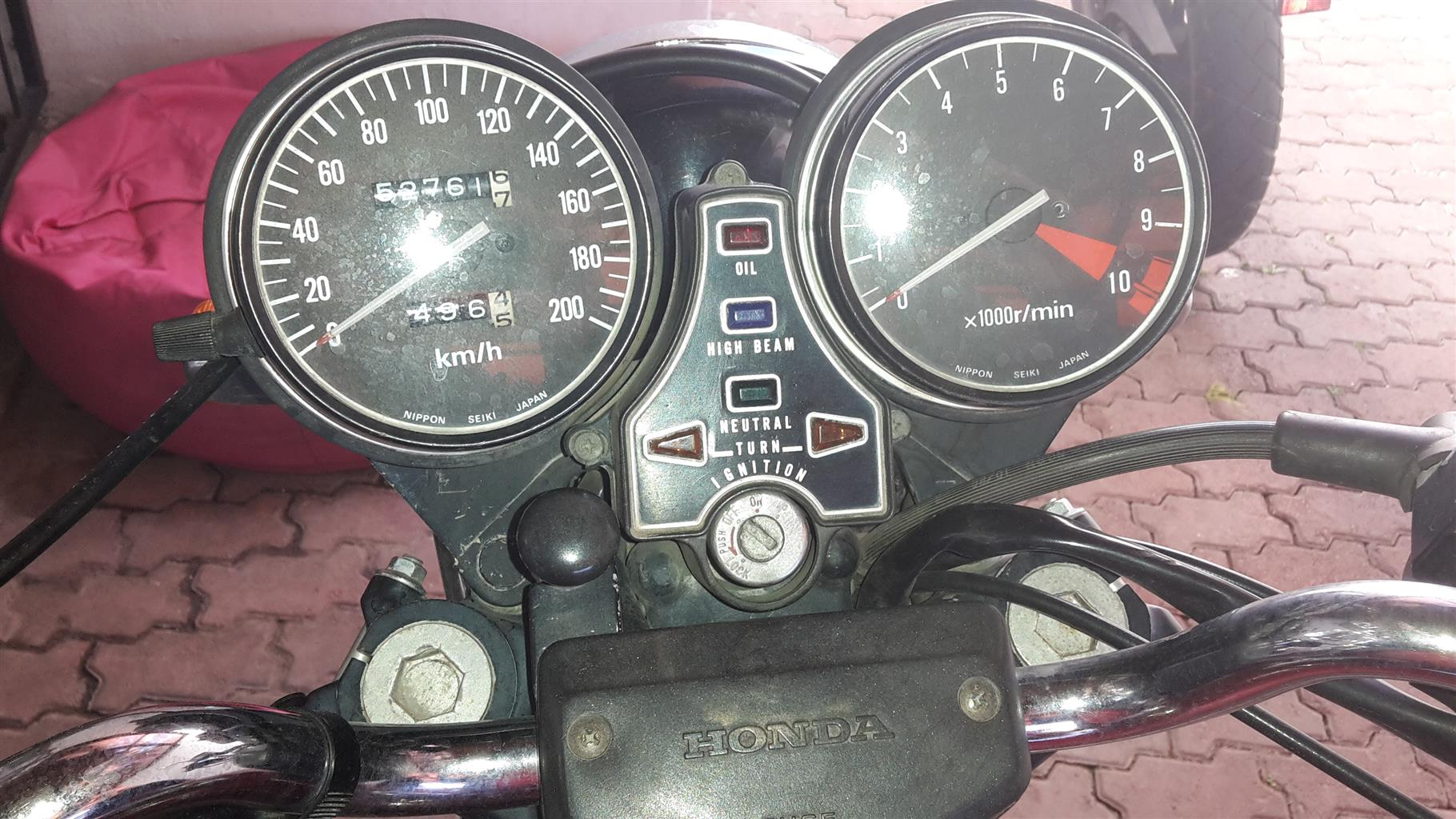 I am selling my 1980 Honda cb650 in an excellent condition