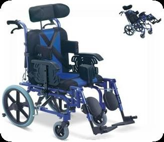 MR WHEELCHAIR CPC TILT & RECLINE