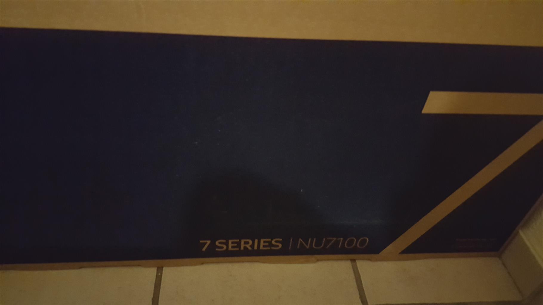 Samsung 55 inch UHD led tv - Unopened and Unused