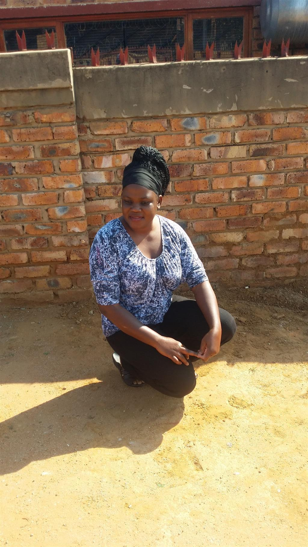 Zimbabwean domestic worker looking for full time job sleep out in Pretoria