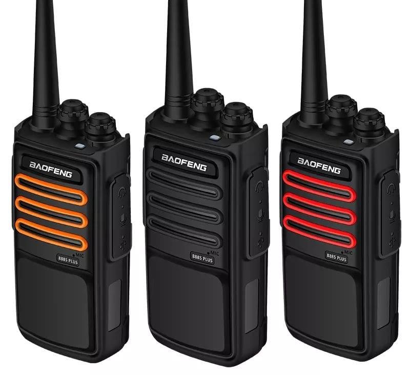 NEW Walkie Talkie UHF Band 10W Handheld Two Way Radio / Transceiver. Brand New Ugraded Version.