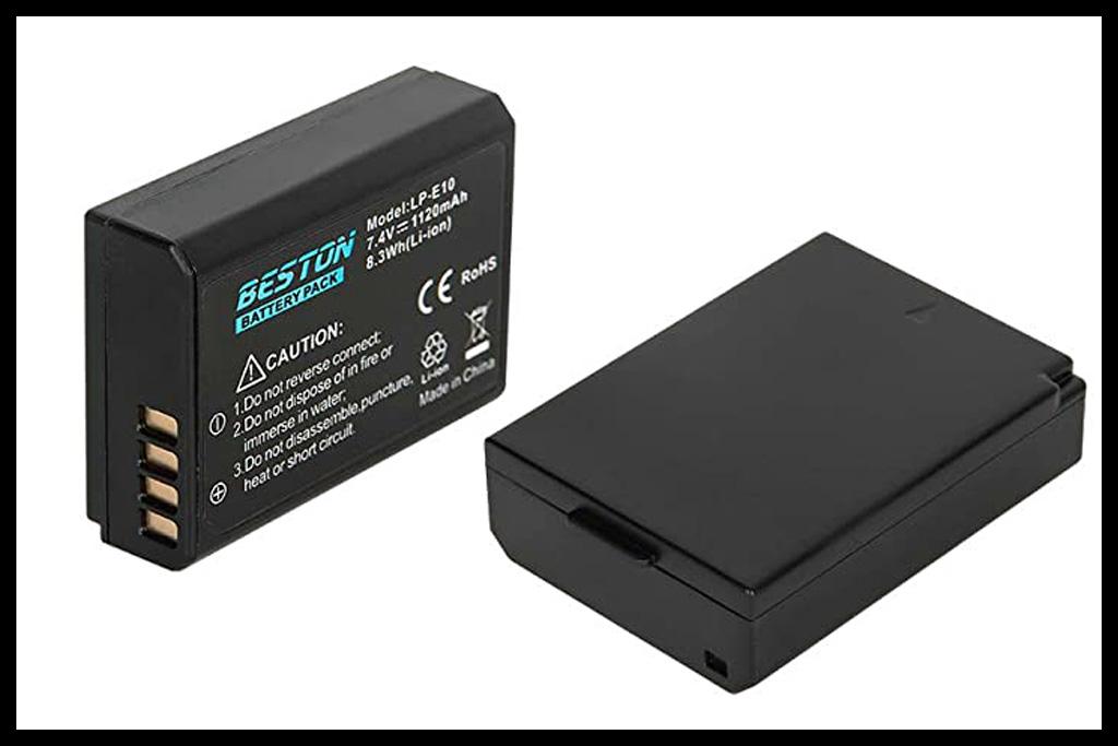 LP-E10 Battery for Canon