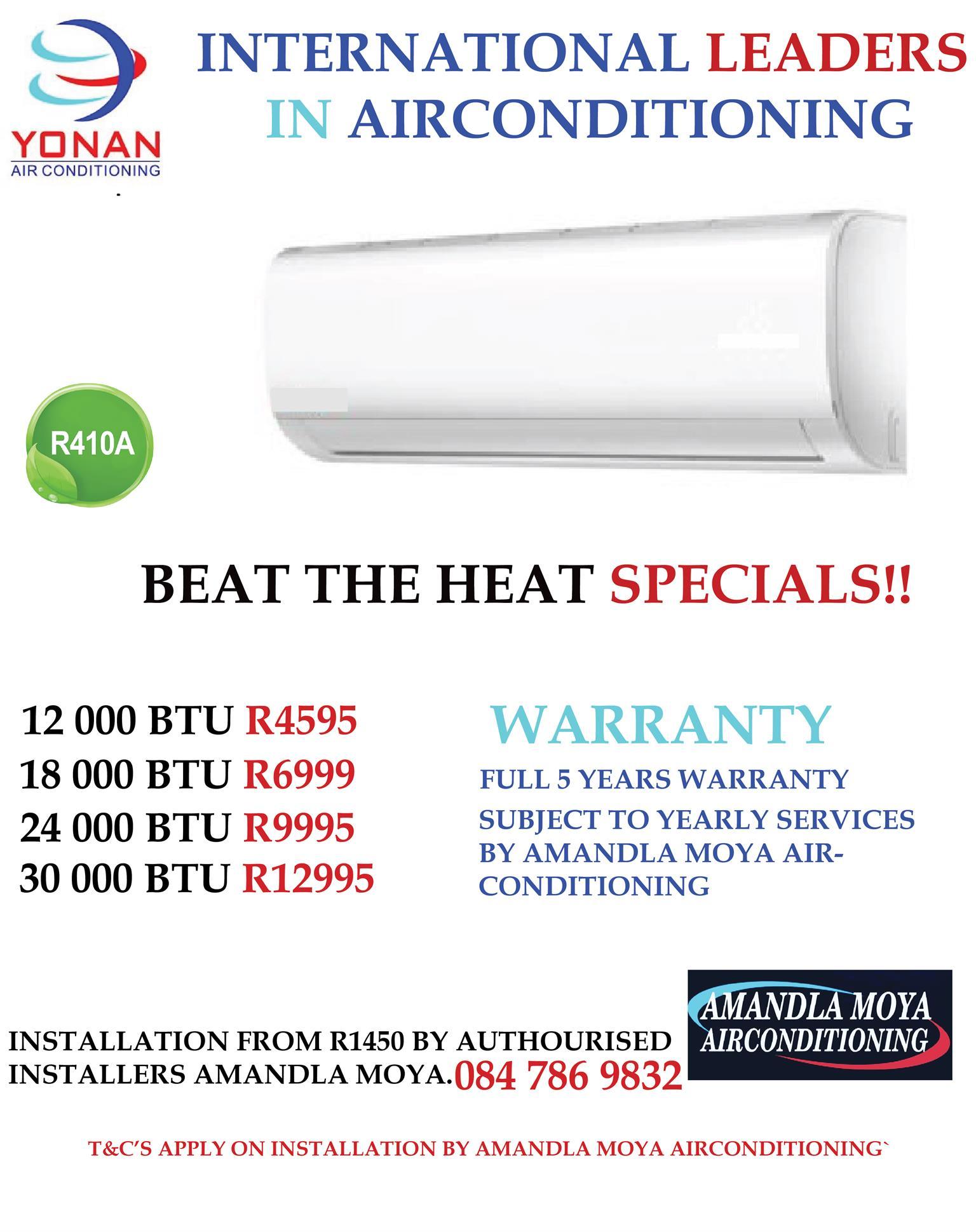 Yonan Air Conditioners