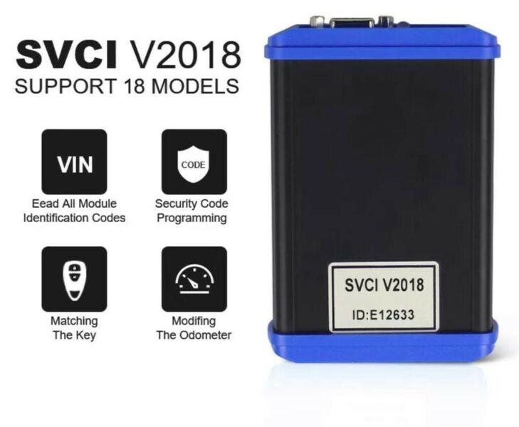 VDIAGTOOL SVCI FVDI 2018 ABRITES Commander Full Version OBDII Full System Scan Tool