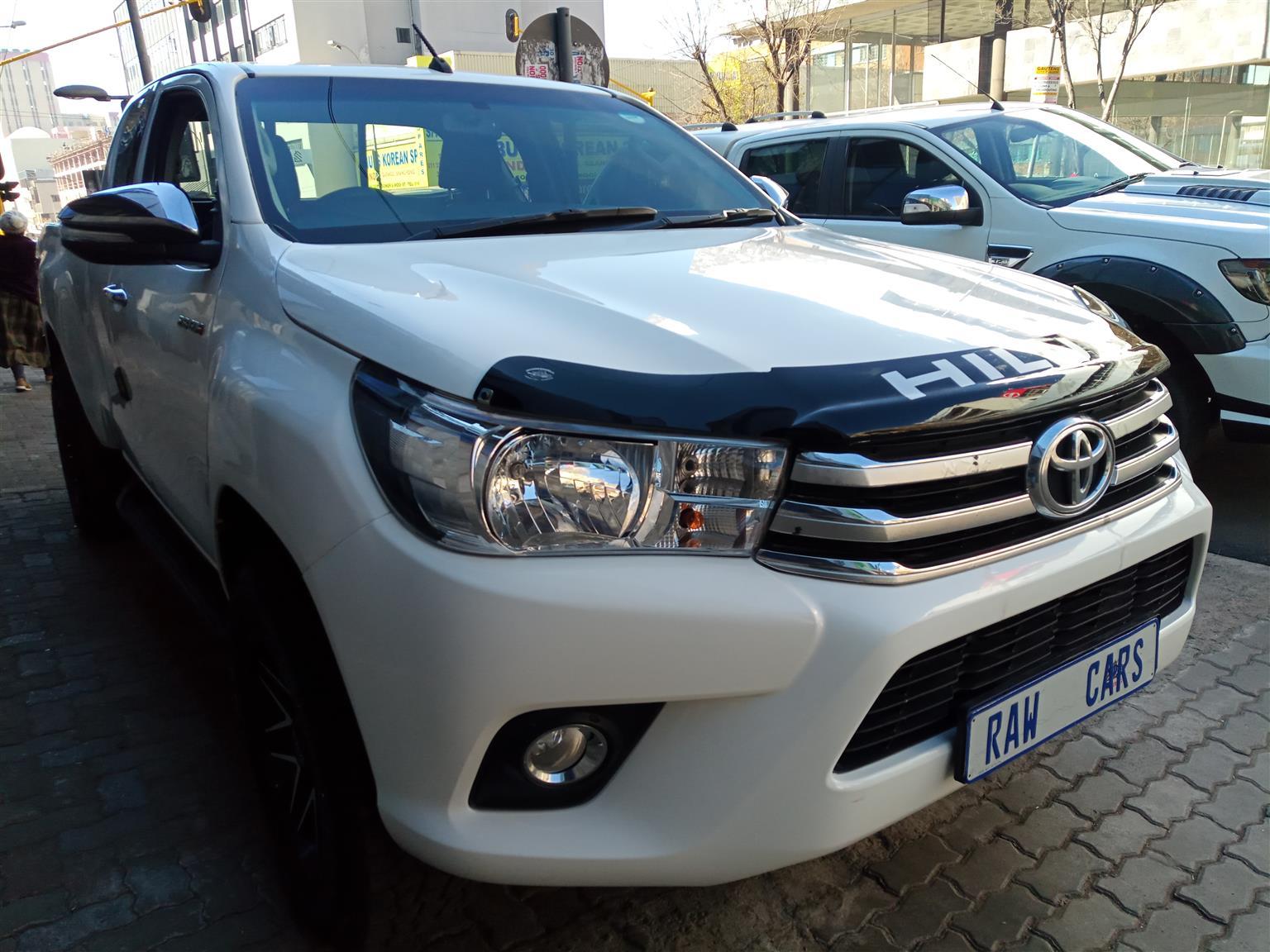 2016 Toyota Hilux 2.8GD 6 4x4 Raider