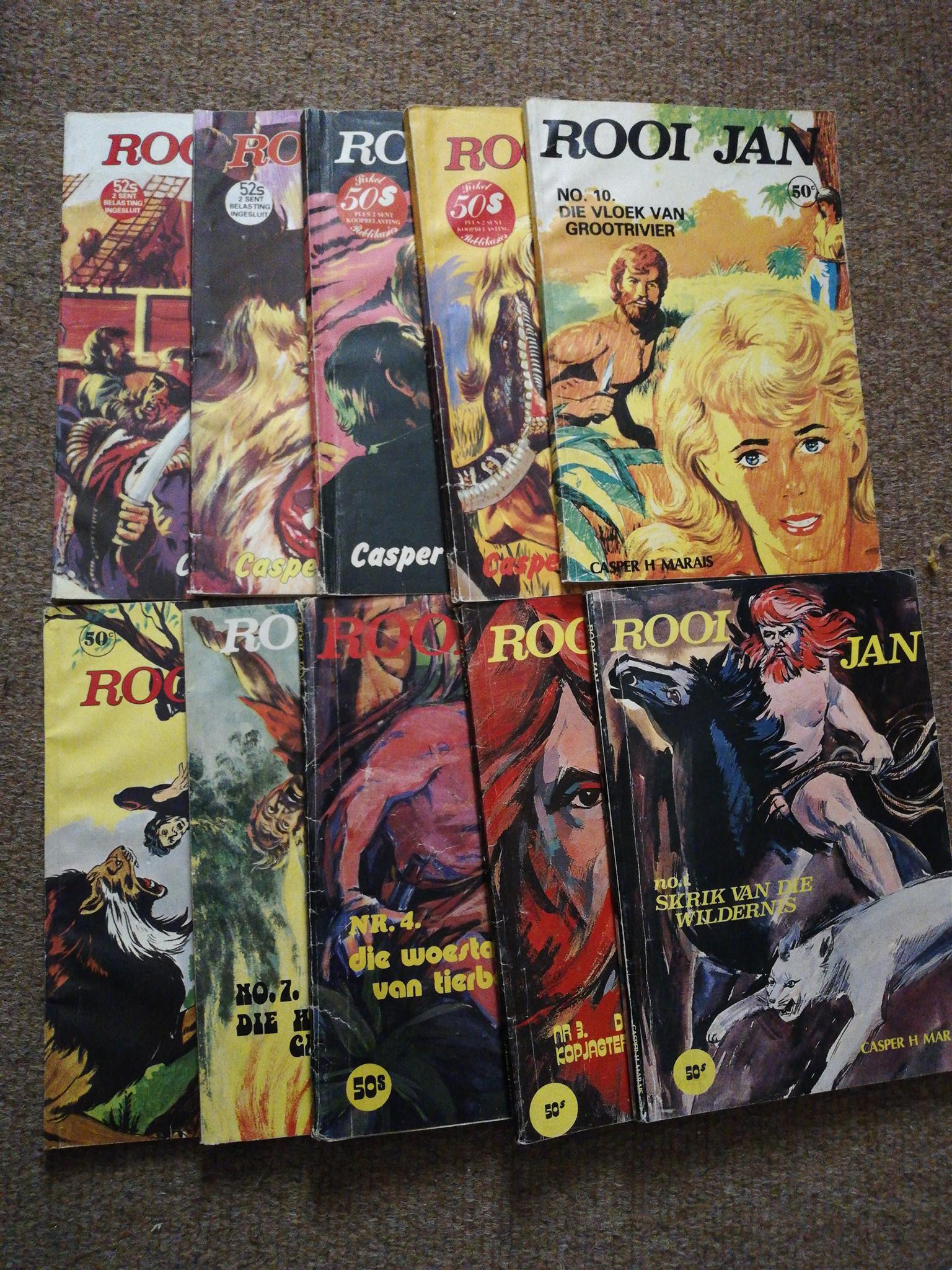 Rooi Jan books
