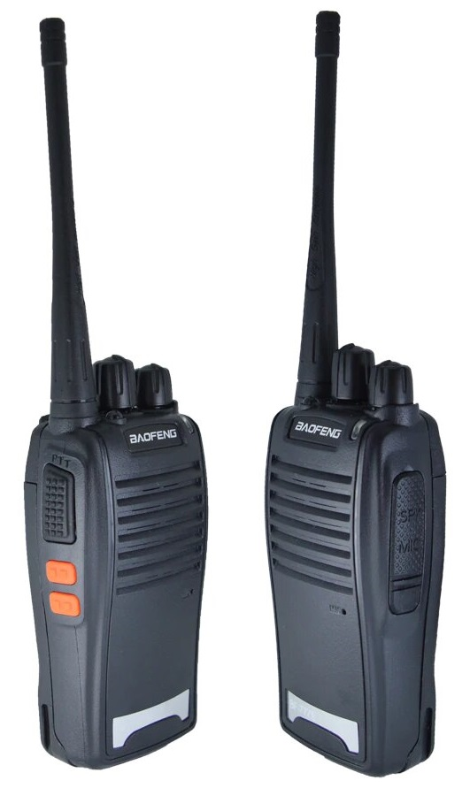 Set of 2 Walkie Talkies UHF Band Two Way Professional Radios, Transceivers. Brand New Products.