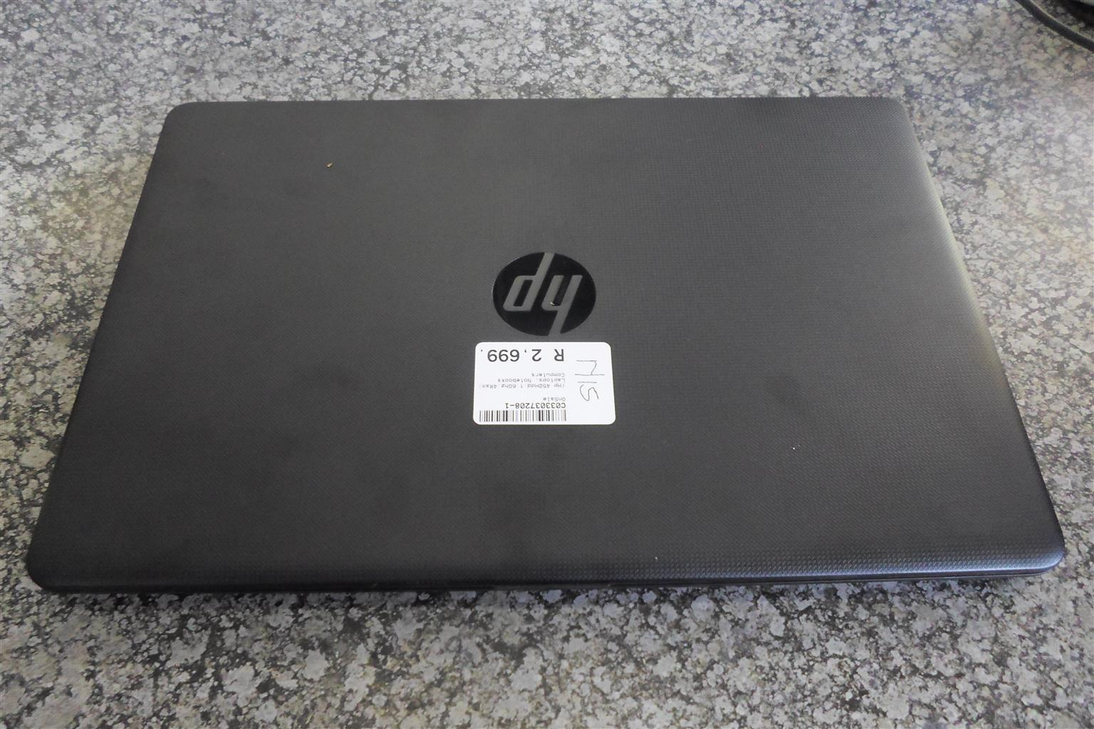 HP Laptop.