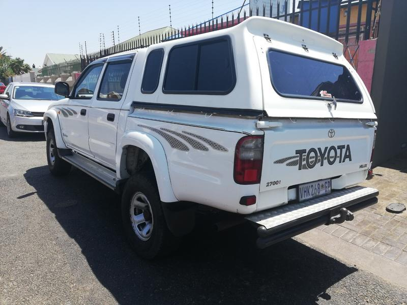 2004 Toyota Hilux 2.7 Raider