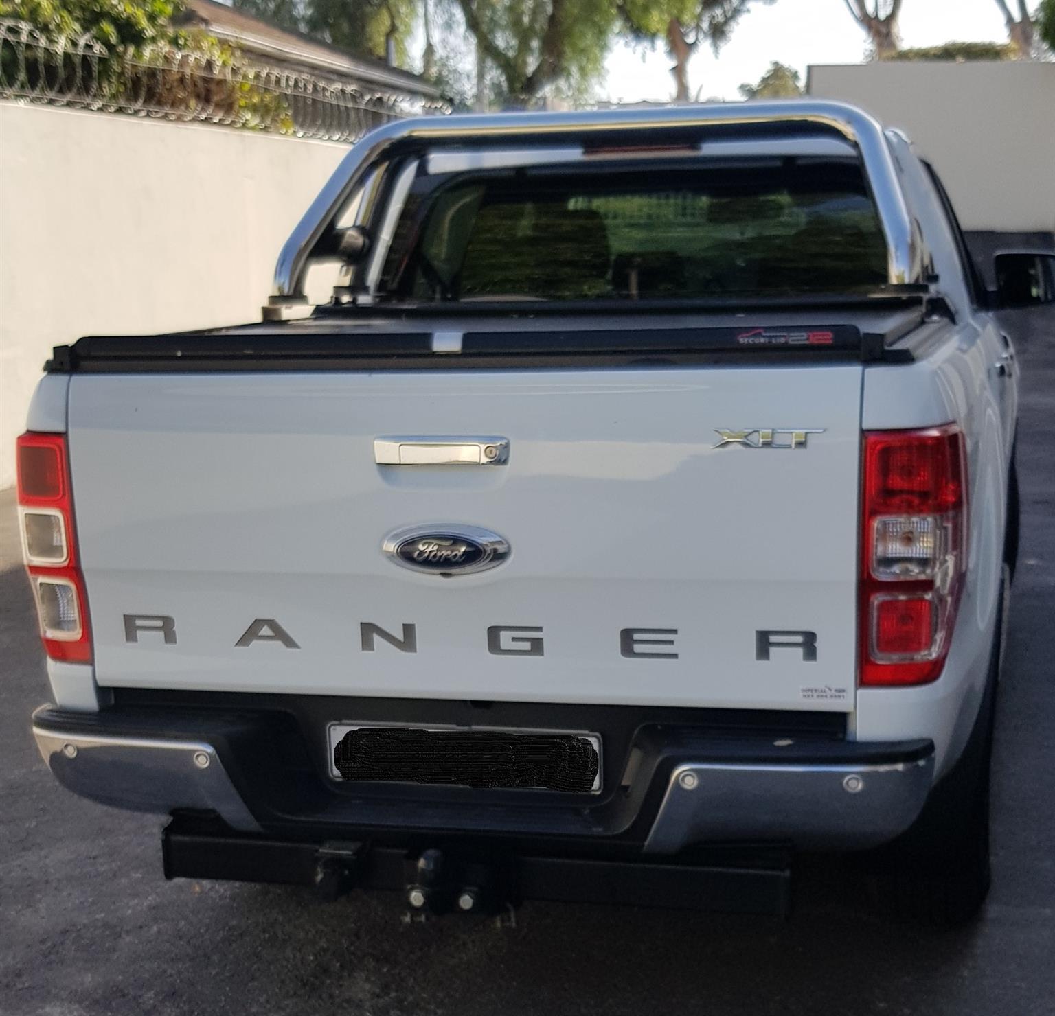 2016 Ford Ranger double cab RANGER 2.2TDCi XLT A/T P/U D/C