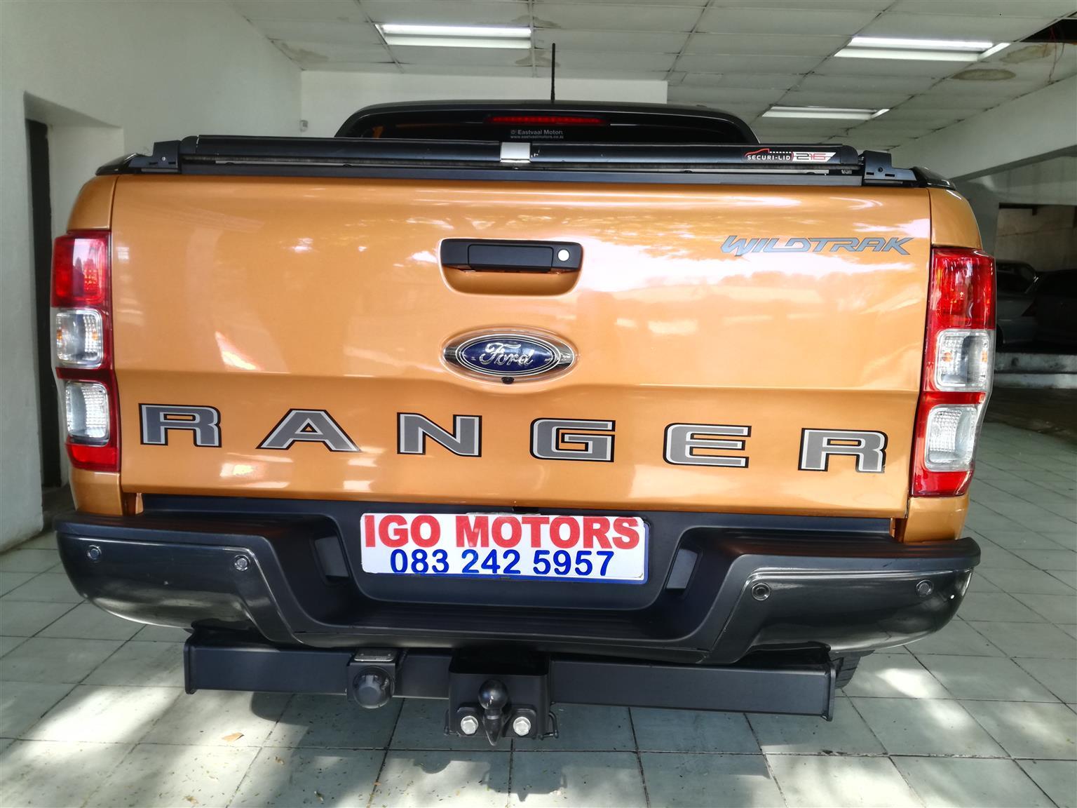 2019 Ford Ranger Double Cab Bi Turbo WildTrack Auto