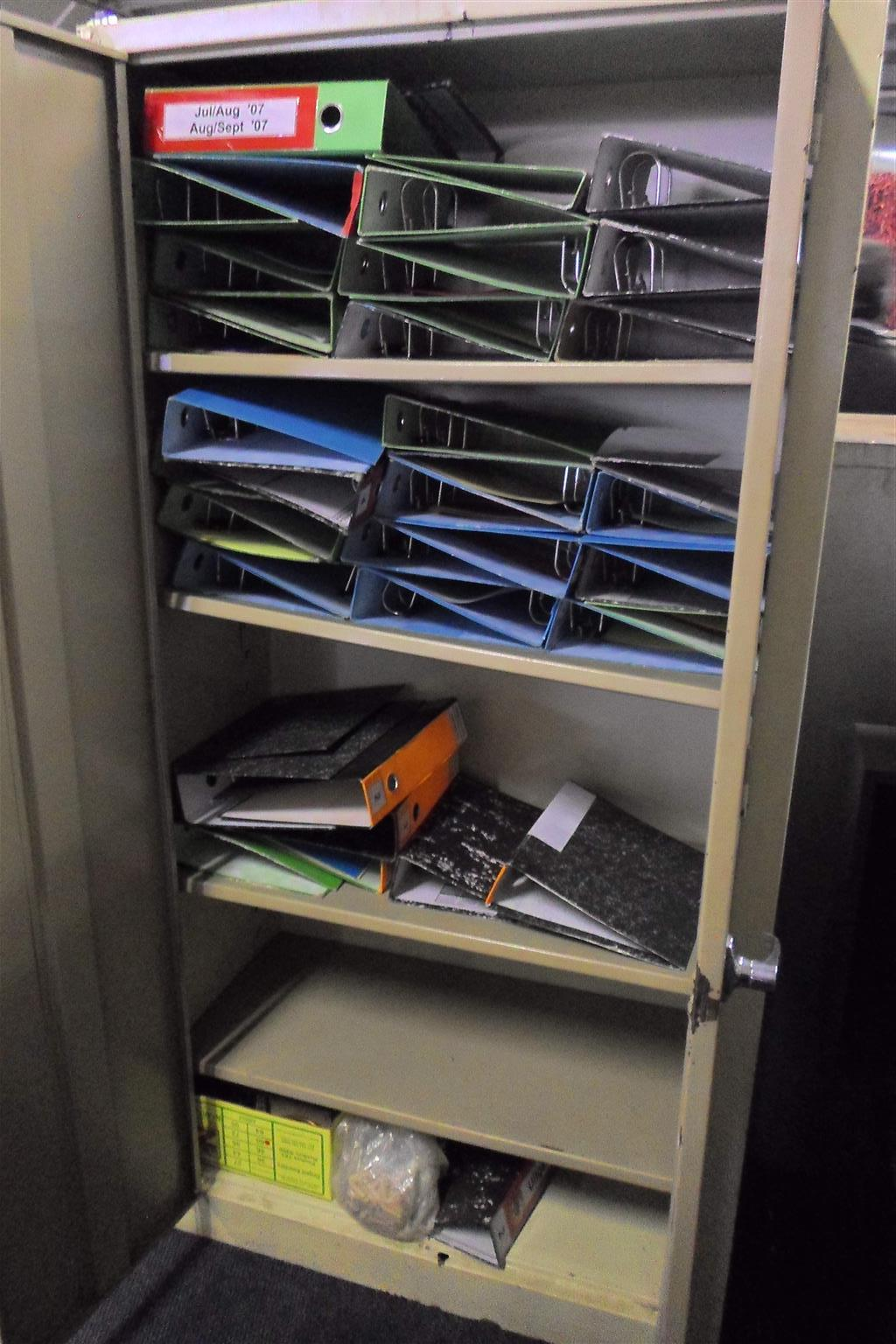Steel Filing Cabinet - B033043962-13