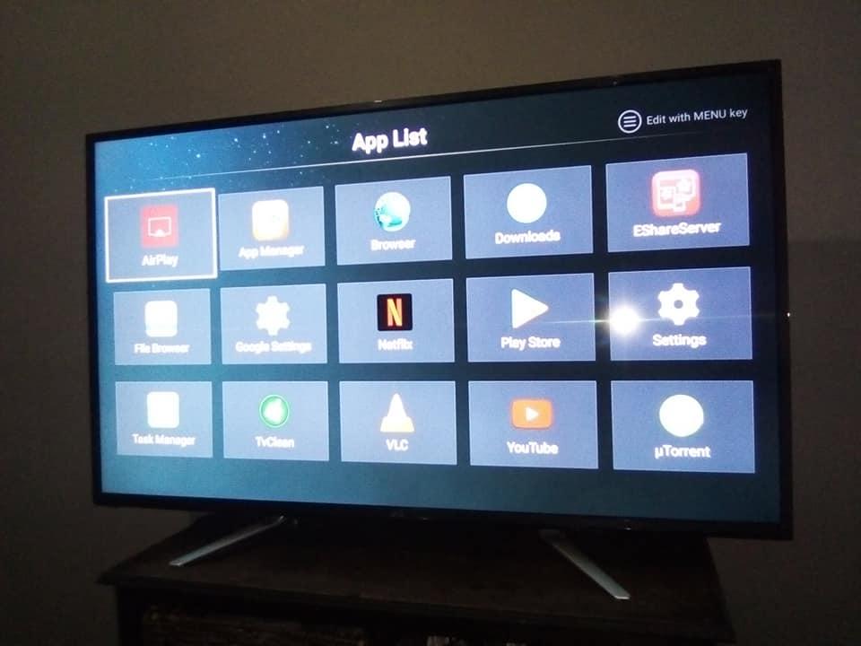 49' full HD JVC Smart tv