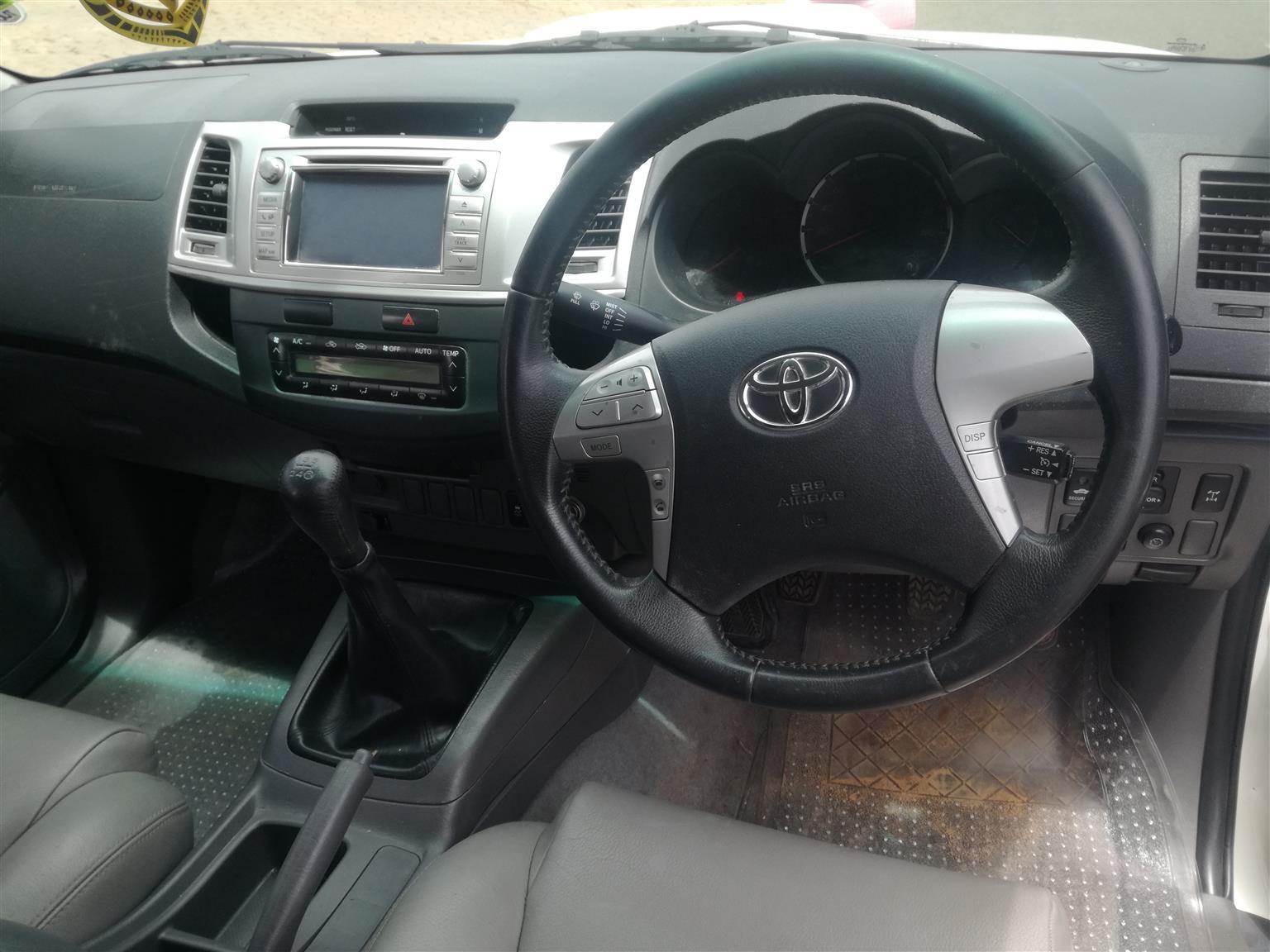 2012 Toyota Hilux double cab HILUX 3.0 D 4D HERITAGE 4X4 A/T P/U D/C