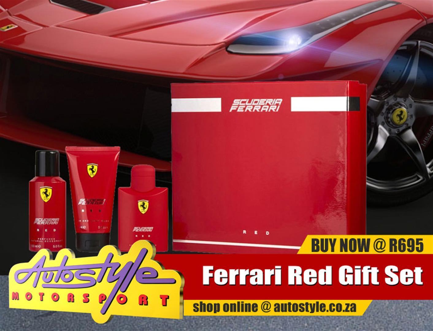 Ferrari black and red original licensed perfumes and fragrances,