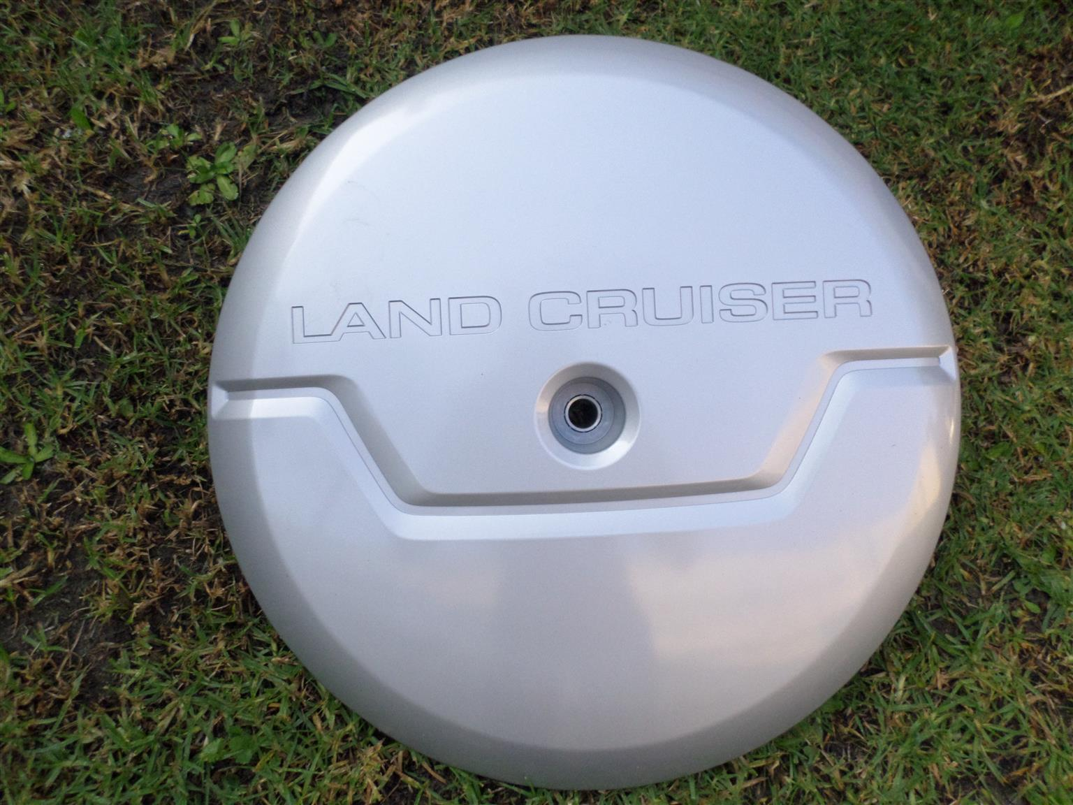 2004 TOYOTA LAND CRUISER PRADO SPARE WHEEL COVER FOR SALE. BRAND NEW