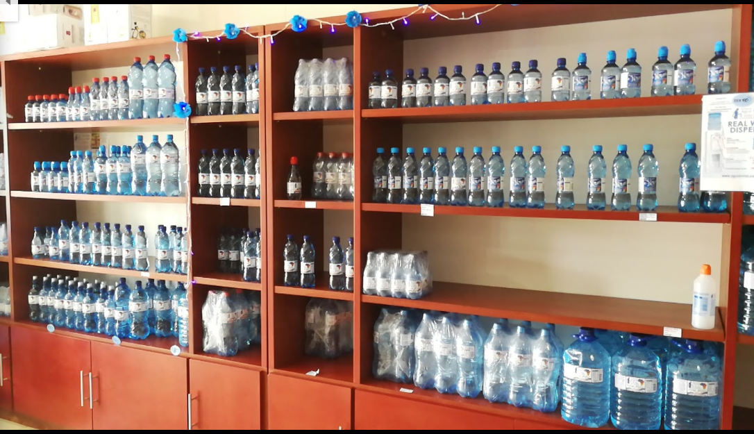 Bottled water in store, refills and deliveries in Groenkloof, Pretoria.