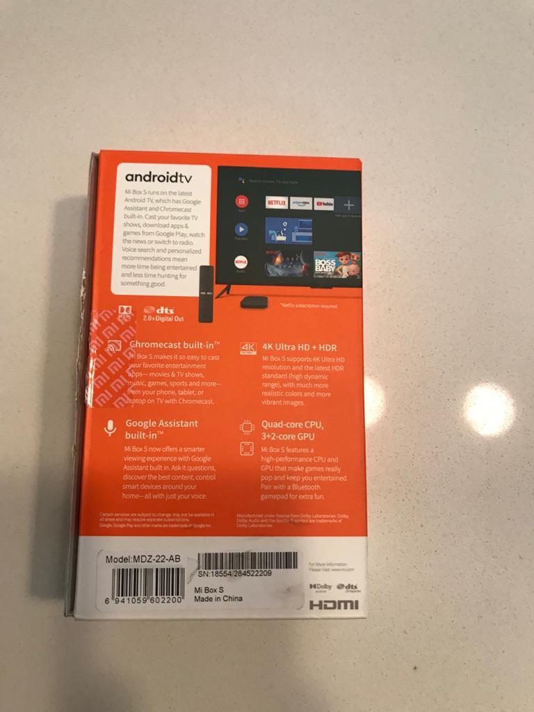 Mi tv box (brand new) for sale