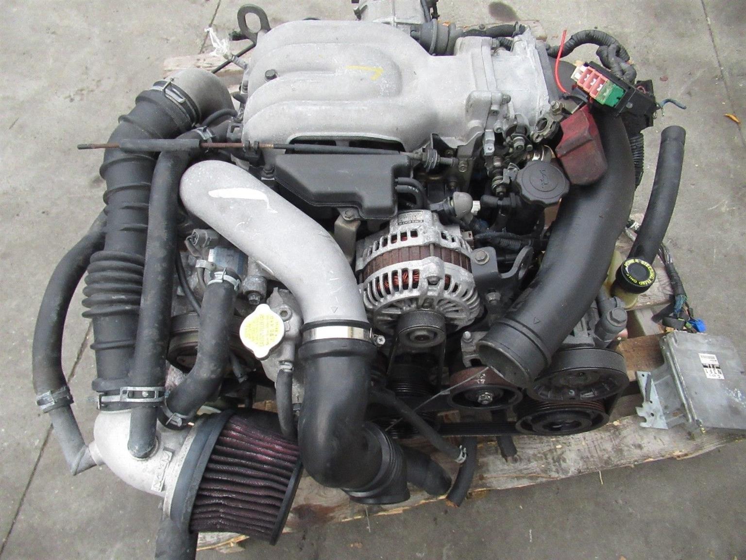 mazda rx7 fd3s 13b-tt twin turbo engine 13btt engine 1 3l rotary motor 13bt