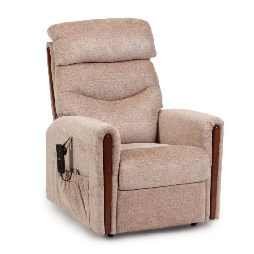 Rise Recliner - Restwell - Santana, Available in Fabric or Leather. FREE Delivery, On Sale.