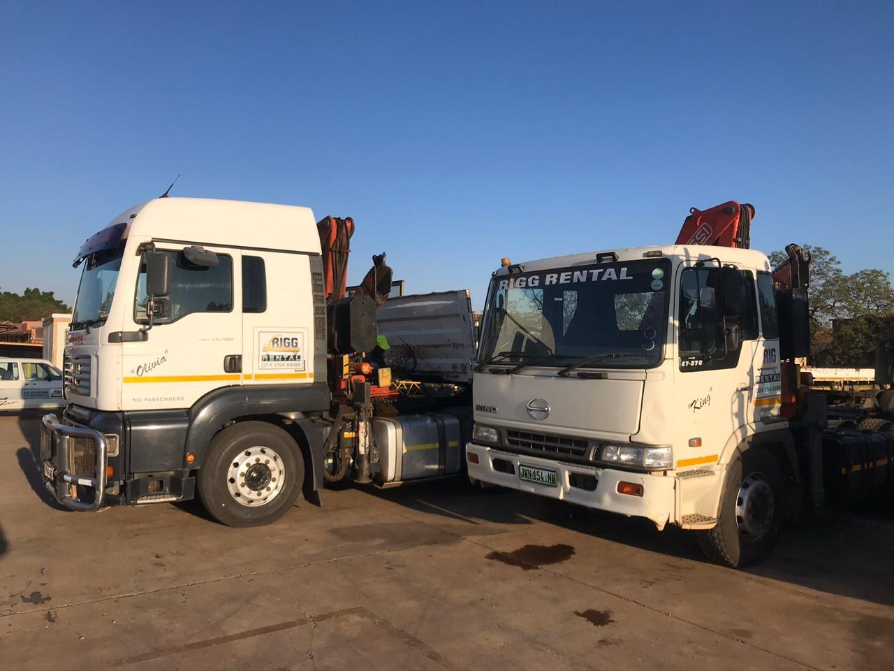 Crane Truck for Hire - Pretoria