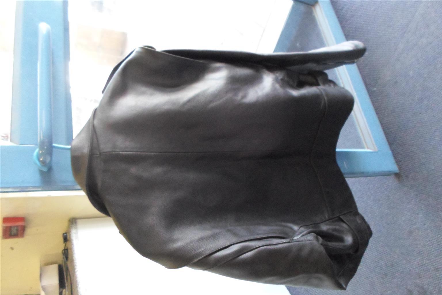 3XL Leon Leather Motorcycle Jacket