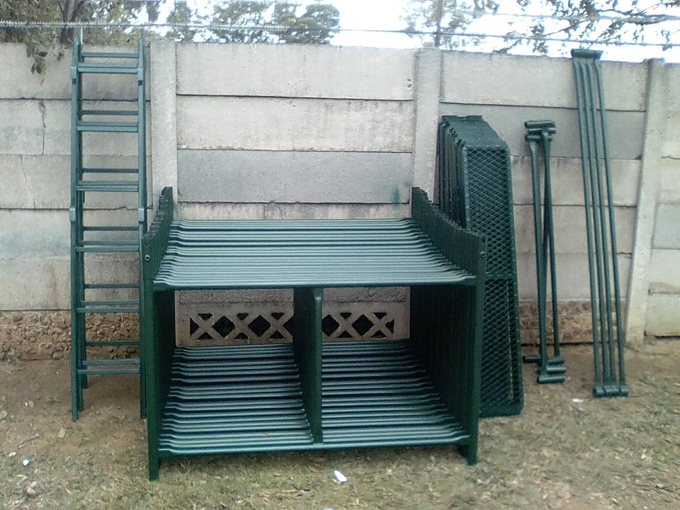 SCAFFOLDING 5M H X 1.5M W FOR SALE FRAMES ONLY R3500