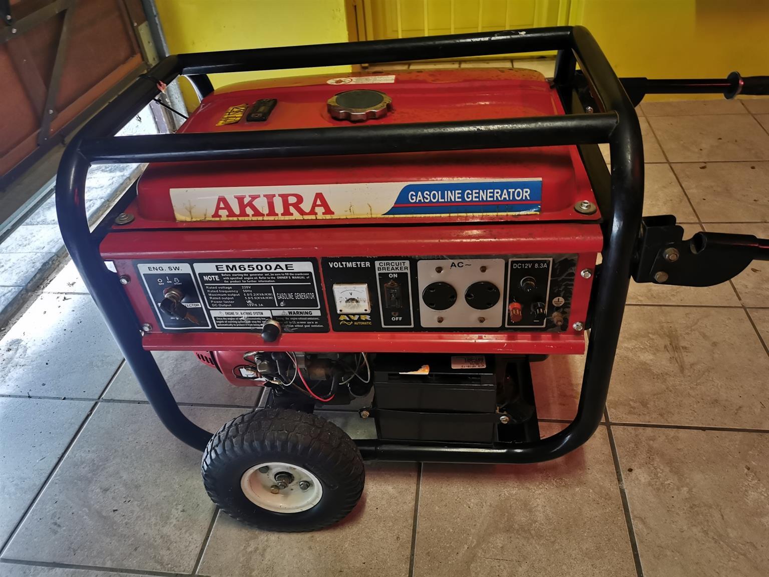 Akira 5.5KVA Generator
