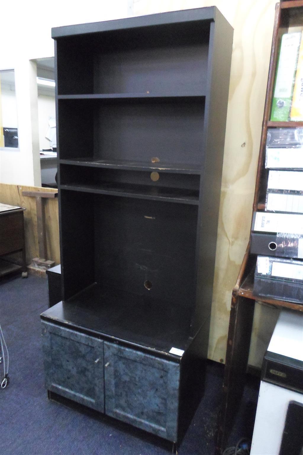 Wooden 3pc. Wall Unit - B033045959-3
