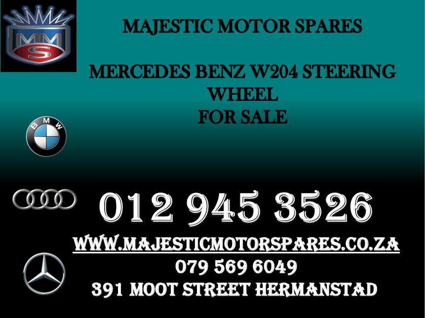 mercedes w204 steering wheel for sale