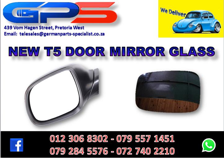 New VW T5 Door Mirror Glass for Sale