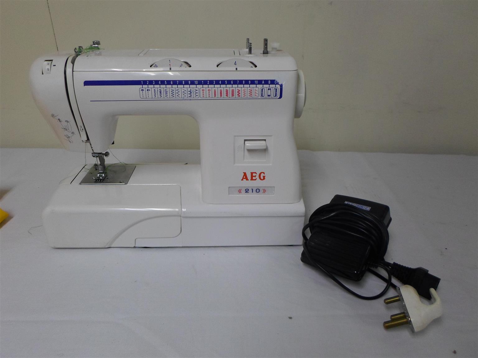 AEG 210 Sewing Machine